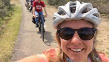 sharon brown biking