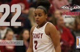 Transylvania women's basketball moves up to No. 22 in D3Hoops.com Top 25 poll