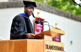 """Choose civility:"" Read the 2019 Transylvania commencement address"