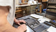 Making letterpress
