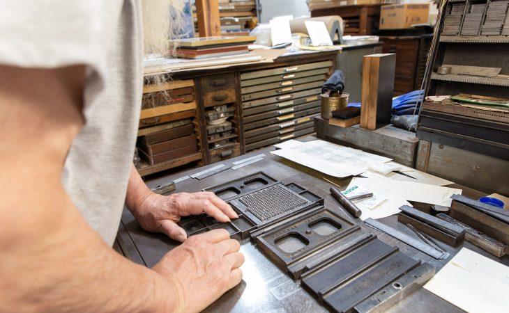 Making letterpress