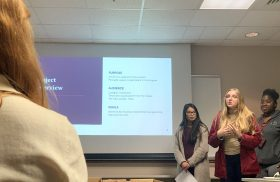 Transy students connect with community nonprofits for class projects