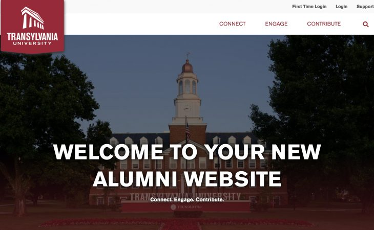 alumni webpage