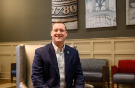 Meet Transylvania's new director of residence life: Jeremy Sheffield
