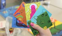 Shawna Morton's deck of cards featuring women in history