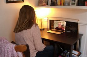 Resident advisers connect with Transy students through virtual office hours