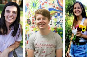 Three Transylvania sophomores selected for medical school Early Assurance Program