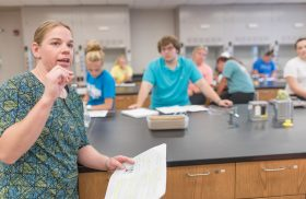 'In it together': Transylvania chemistry profs discuss transition as a community from in-class to online