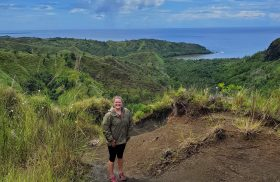 Clerking for the Superior Court of Guam brings discovery, purpose to Transylvania alumna in era of uncertainty