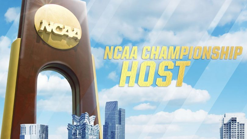 NCAA Championship Host graphic