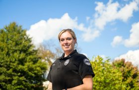 Hard work pays off for Transylvania's first female DPS supervisor