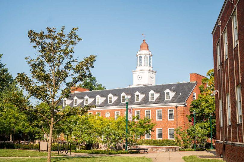 The campus of Transylvania University in Lexington, Kentucky.