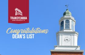 Transylvania University Dean's List for Fall 2020