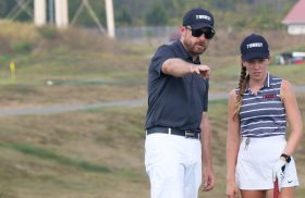 Transylvania women's golf coach named one of Golf Digest's Best Young Teachers in America