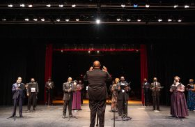 American Spiritual Ensemble's virtual tour performs for Transylvania's Smith Concert Series