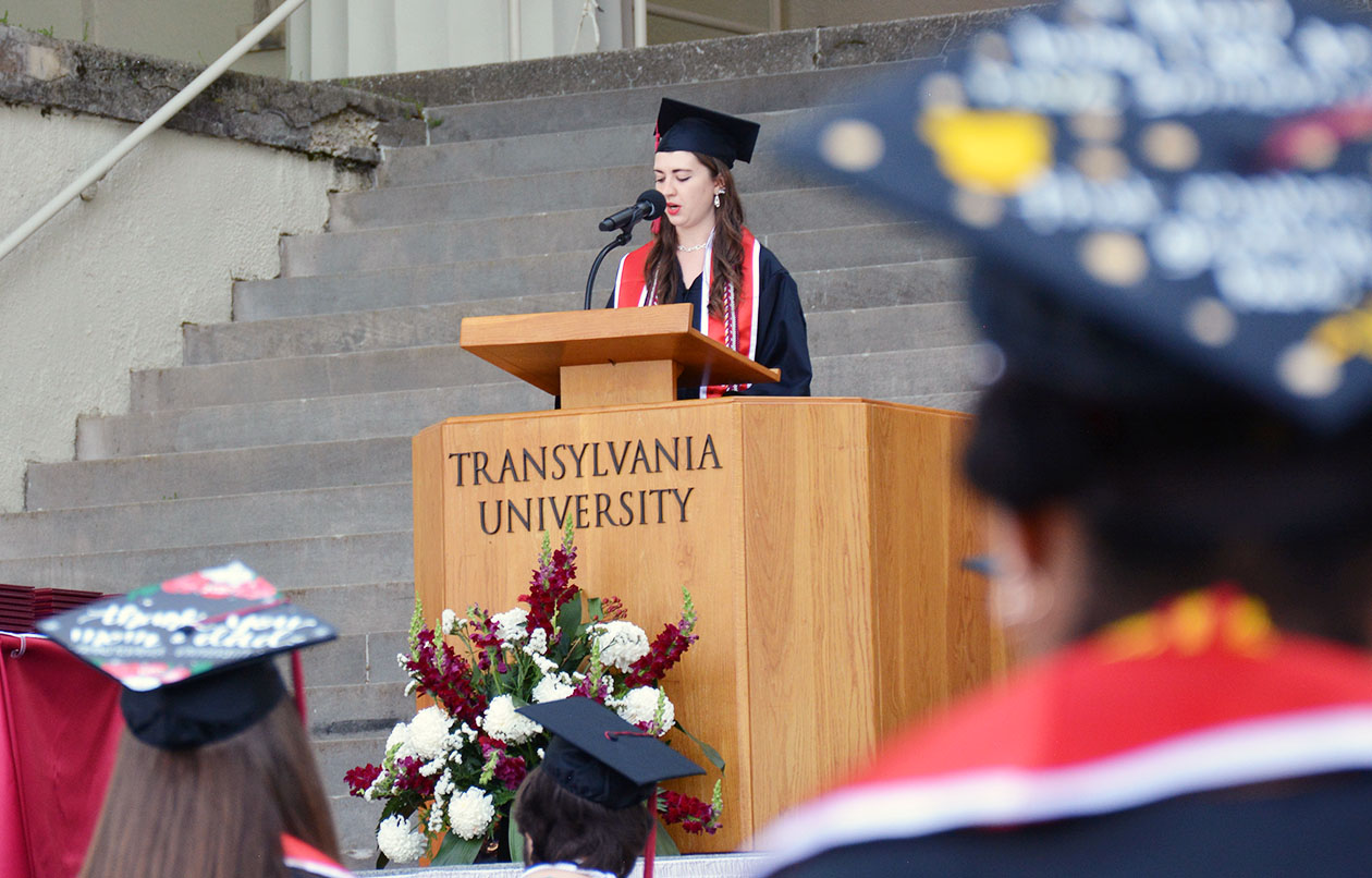 Religion major reflects on liminal space at Class of 2020 commencement celebration
