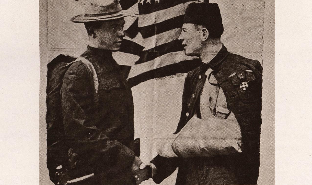 Transylvania remembers Cpl. Robert McLachlan, Pershing standard-bearer, who died in WWI