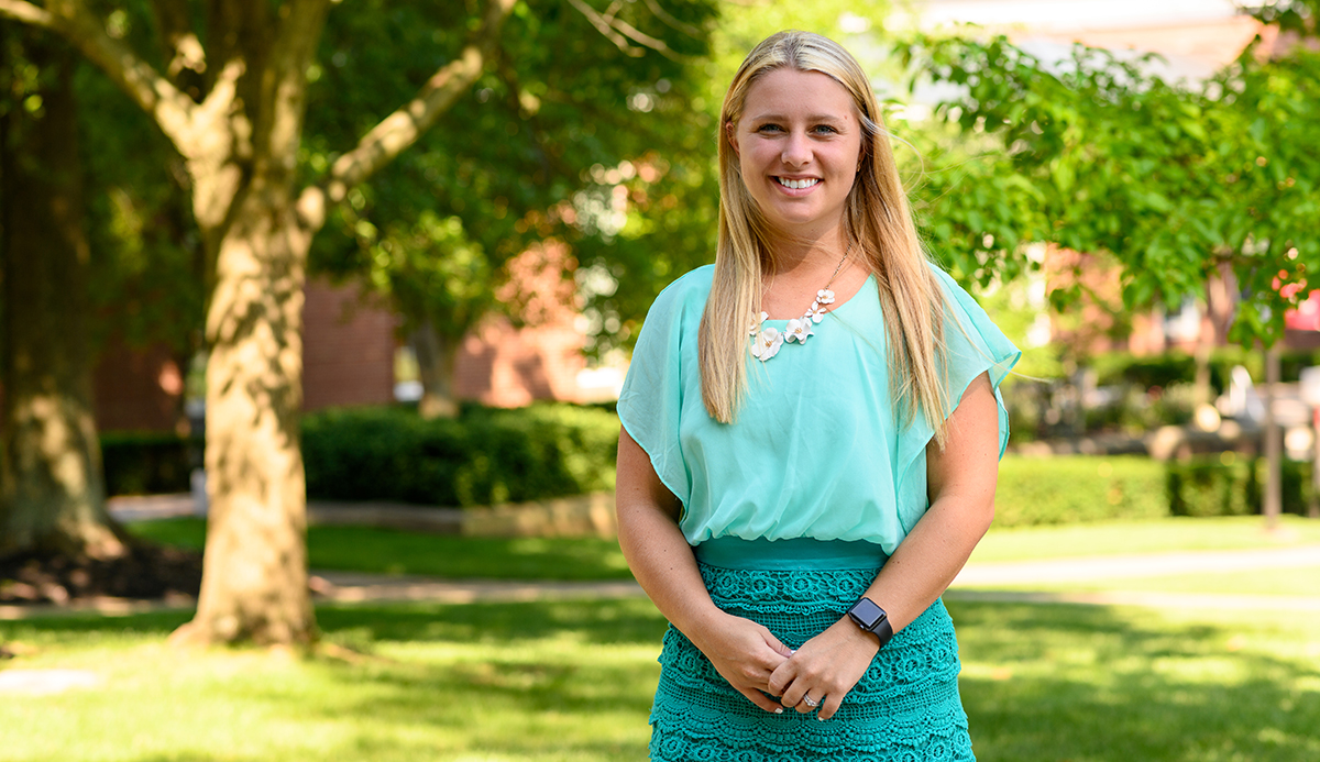 New Transylvania campus experience coordinator hopes to provide 'authentic experience' for visitors