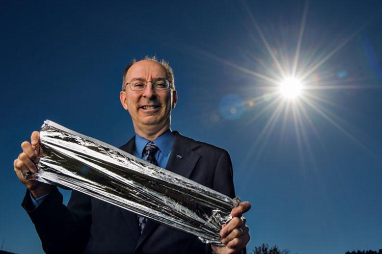 Solar sail spacecraft launch to turn Transylvania graduate's dream into reality