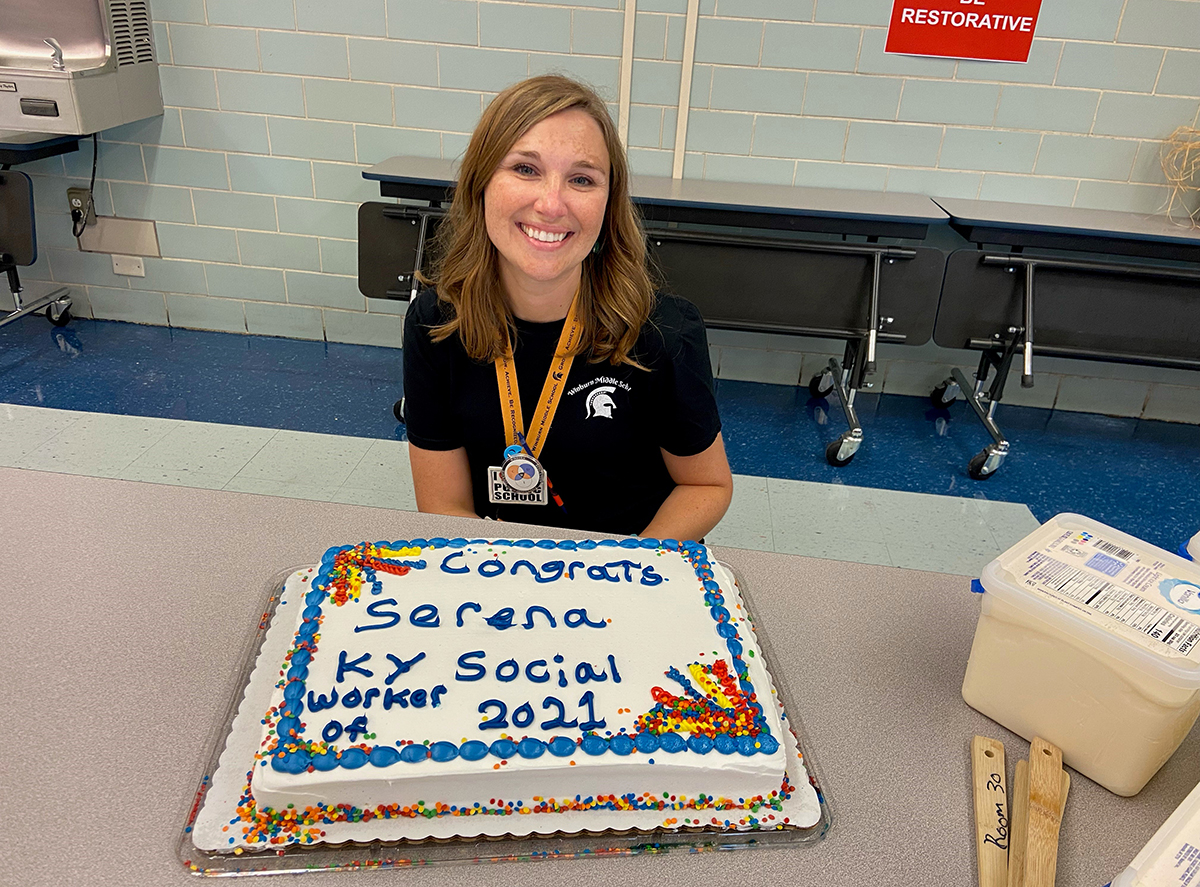 Transylvania alumna receives state School Social Worker of the Year award