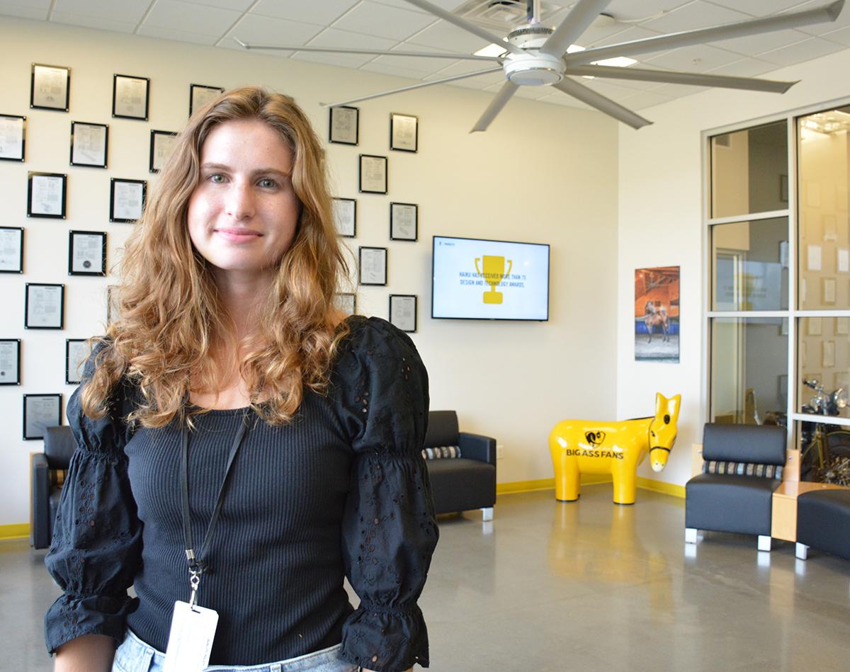 Big 'fan' of internships: Transylvania grad lands marketing job at international company