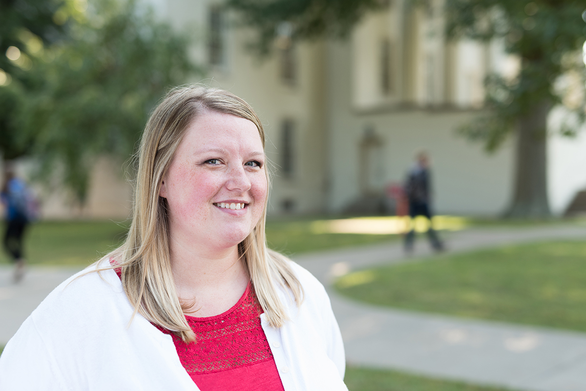 Transylvania campus, community engagement director honored for work during pandemic