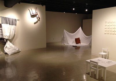 enigmatic remembrances: collaborative work by petra carroll & rae goodwin