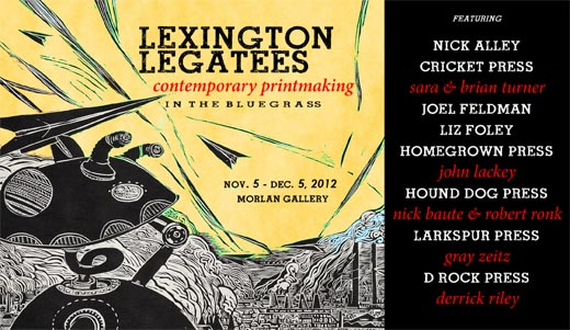 Lexington Legatees: Contemporary Printmaking in the Bluegrass