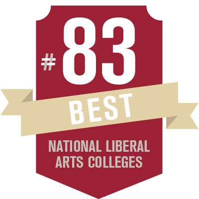 #83 - Best National Liberal Arts Collegs, U.S. News and World Report, 2016