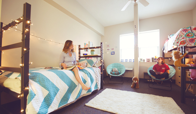 Women In Residence Hall Room Part 58