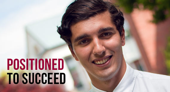 Akin Erol - Positioned to succeed