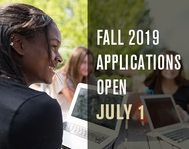 Fall 2019 applications open July 1