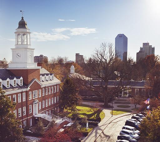 Arial photo of Lexington
