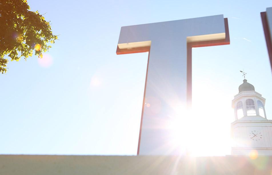 A large letter T