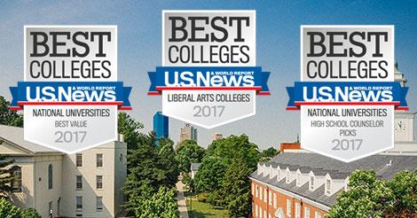 U.S. News awards graphics