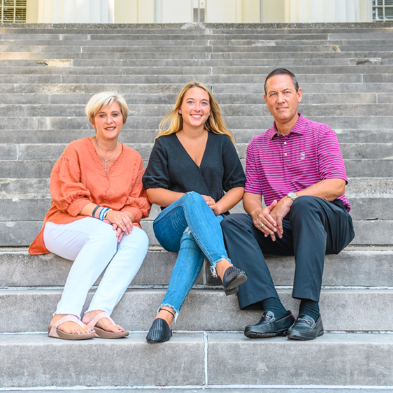 Candice and Chris '91 Chaffin<br><em>President's Parents Society Co-Chairs and parents of Keeley Chaffin '21</em>
