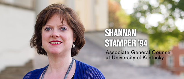 Shannan Stamper '94 | Associate General Counsel at University of Kentucky