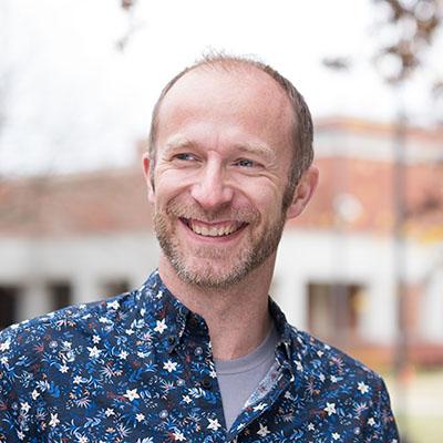 Kurt Gohde, professor of art