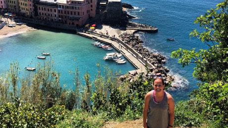 Jillian Graeter in Italy