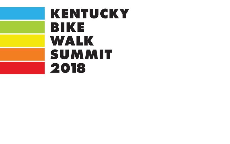Kentucky Bike Walk Summit 2018 Logo
