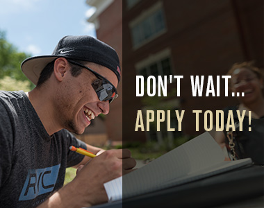 Don't wait. Apply today.