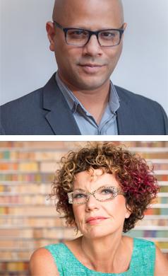 Hasan Elahi and Laurie Frick