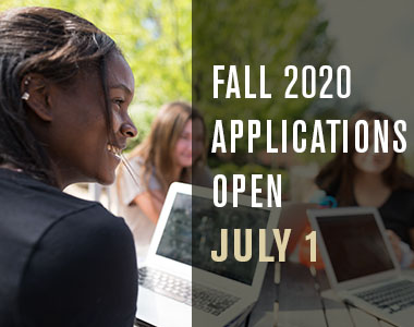 Fall 2020 applications open July 1