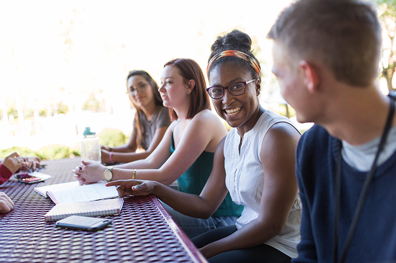 First Year Students at Orientation