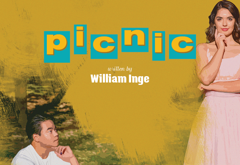 Picnic, written by William Inge poster