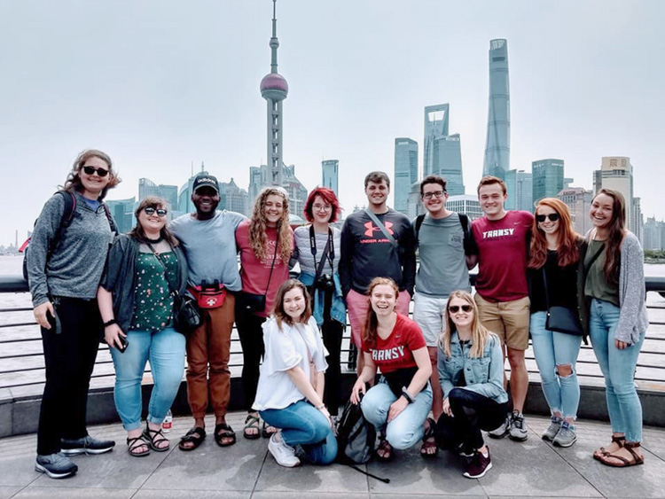 May Term Group in Shanghai