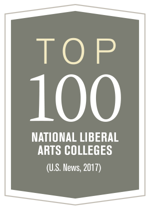 Top 100 National Liberal Arts Colleges (U.S. News, 2017)