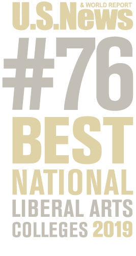US News and World Report number 76 Best National Liberal Arts Colleges, 2018