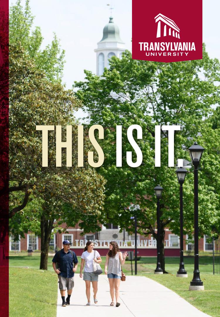 Transylvania University Campus Map.2017 Viewbook Transylvania University Lexington Kentucky