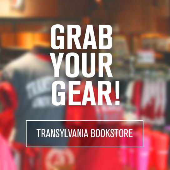 Grab your gear - Transylvania Bookstore
